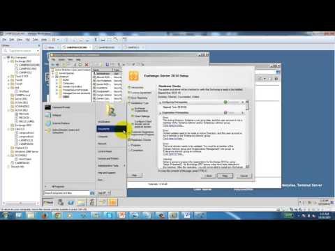 Microsoft Exchange Server 2010 - Part 1 - Installation & Configuration - Windows Server 2008 R2