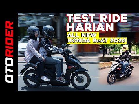 All New Honda BeAT 2020 Test Ride - Indonesia | OtoRider