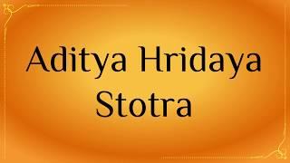 aditya hridaya stotra tamil pdf - मुफ्त ऑनलाइन
