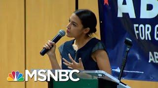 Reporter On Twitter Criticizes Alexandria Ocasio-Cortez's Wardrobe | Velshi & Ruhle | MSNBC