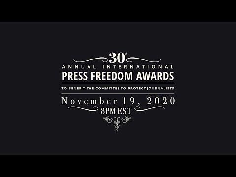 CPJ's 2020 International Press Freedom Awards