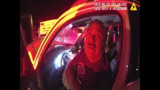 Police Footage of New Mexico Senator Car Crash and Arrested on DWI