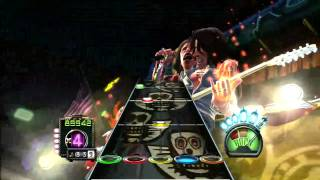 [720P HD] Guitar Hero Aerosmith - Let the music do the talking  - Expert Guitar - 100% FC