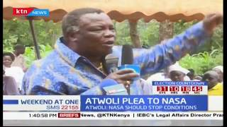 Francis Atwoli's warning to Raila Odinga ahead of the repeat presidential elections