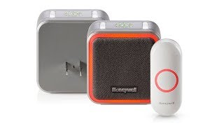 Honeywell 5 Series Plug-In Wireless Doorbell with Halo Light and Push Button (RDWL515P)