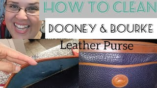 How To Clean A Dooney & Bourke Leather Purse