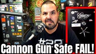 Cannon Gun Safe FAIL! What to Do Now!