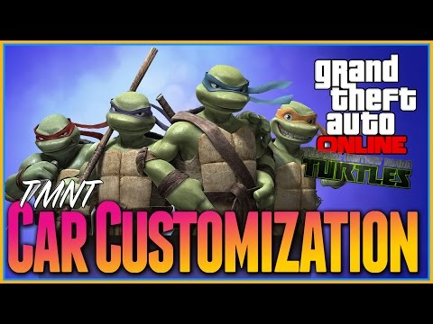 Gta 5 Online - KILLER Car Customization Guide Teenage Mutant Ninja Turtles, Amoured Karin Kuruma