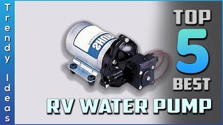 Top 5 Best RV Water Pump Review In 2021 | On The Market Today