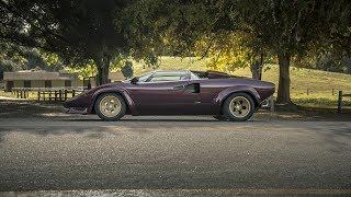 Supercarros Clássicos: o incrível Lamborghini Countach dirigido por Valentino Balboni