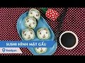 Hướng Dẫn Cách Làm Sushi Hình Mặt Gấu - Panda Sushi Recipe Với #.y