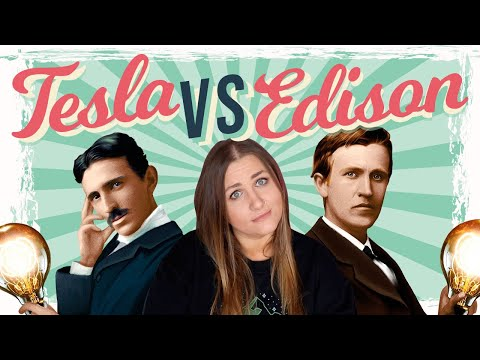 EXPOSING The TRUTH They Didn't Tell You! Edison vs. Tesla