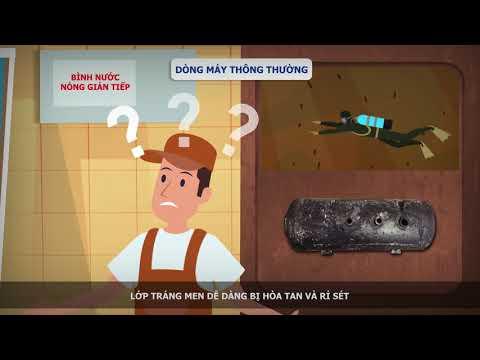 Bình nước nóng Panasonic Không cần bảo trì