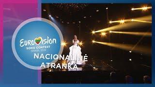 """Monika Marija - """"Light On"""" - Nacionalinė Eurovizijos atranka"""