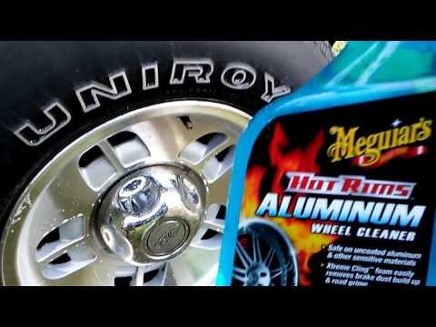 Meguiar's hot rims aluminum wheel cleaner test review