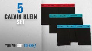 Top 10 Calvin Klein Set [2018]: Calvin Klein Mens Sports Underwear Pack Of 3