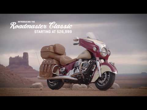 2017 Indian Roadmaster® Classic in Ferndale, Washington - Video 1