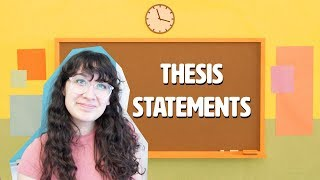 How To Write An Essay: Thesis Statements