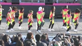 横浜消防出初式2016  EXPGパフォーマンス