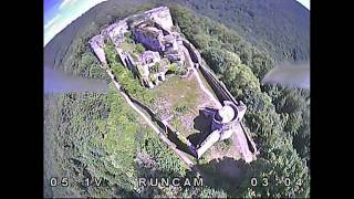 FPV Freestyle in a Ruin in germany