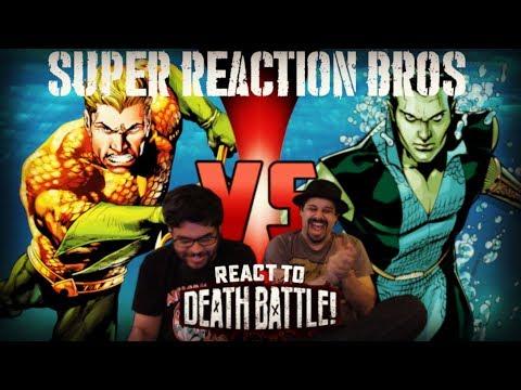 SRB Reacts to Aquaman VS Namor (Marvel VS DC Comics) DEATH BATTLE!