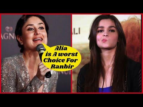 Kareena Kapoor Does Not Want Ranbir to Marry Alia Bhatt