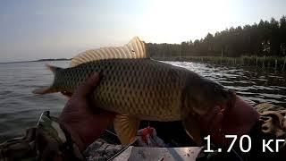 Рыбалка на озеро яу балык 2020