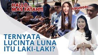 Wiki Trends - Begini Reaksi Lucinta Luna saat Dipanggil Mas Fattah oleh Awak Media
