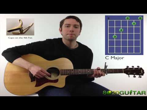 5 Easy Guitar Chords to Play I'm Yours by Jason Mraz (Guitar Lesson)