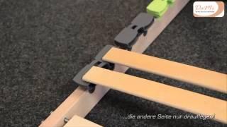 Aufbauanleitung DaMi Lattenrost Basic NV