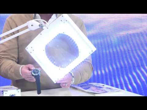 Lunartec Profi-Lupenlampe mit 5 Watt LED & 3 Dioptrien Vergrößerung