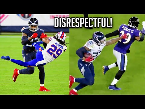 "NFL ""Disrespectful"" Stiff Arms 