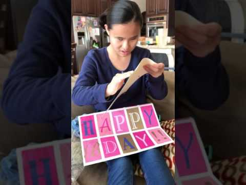 "Blind girl's parents reveal her ""dream come true"" birthday surprise in a braille letter. So heckin' cute."