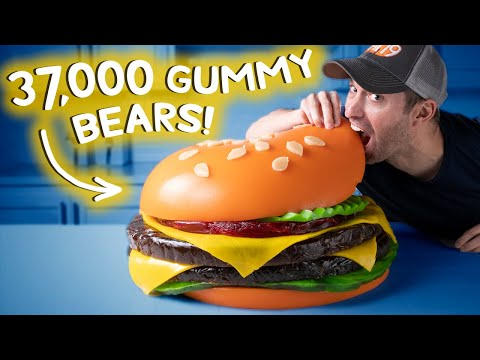 We Made the World's Largest Gummy Burger • This Could Be Awesome #14
