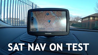 Sat Nav - Driving Test