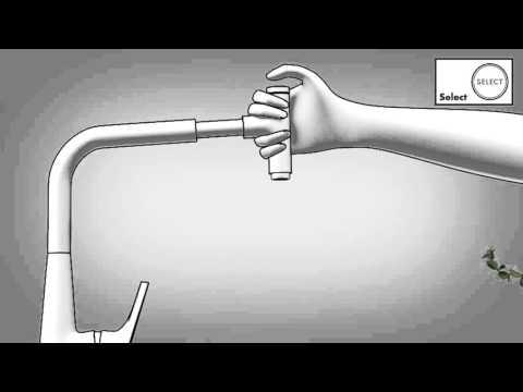 Смеситель для кухни Hansgrohe Metris Select (14884800) (сталь) 7