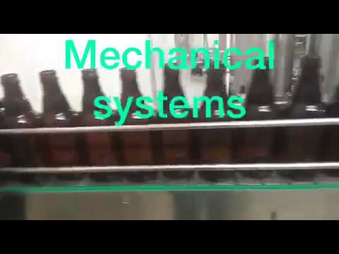 Automatic Bottle Rinsing, Filling & Capping Machine