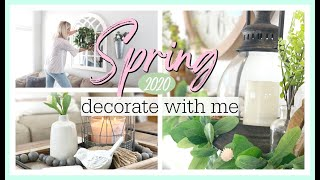 *NEW* SPRING DECORATE WITH ME 2020!   FARMHOUSE SPRING MANTLE DECOR