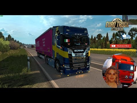 Euro Truck Simulator 2 (1 31) Promods map v2 27 + DLC's