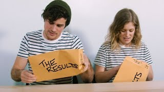 Couple gets their test results