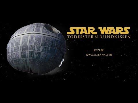 Star Wars: Das Todesstern-Rundkissen