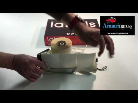 Come utilizzare l'Applicatore Etichette TOWA APN 100