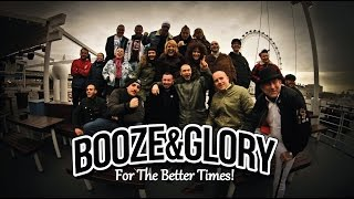 Booze Glory head to the 100 Club on Friday courtesy of Human Punk