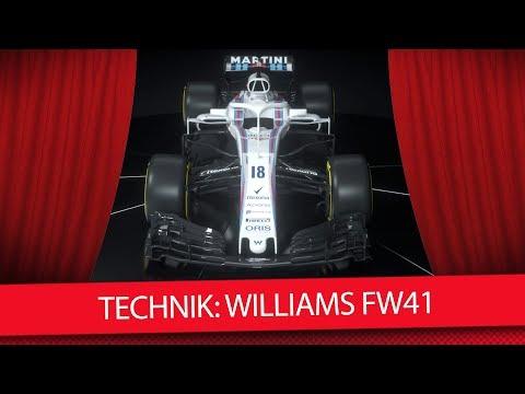 Formel 1 Autos 2018: Der neue Williams FW41 [Technik-Check]