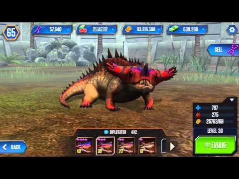All Amphibian Dinosaurs At Level 40 Ep 20