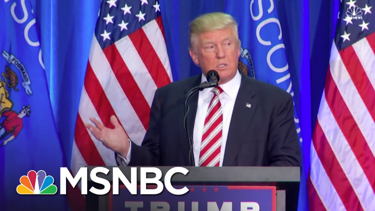 Donald Trump: Law And Order Must Be Restored | MSNBC thumbnail