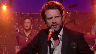 Father John Misty Only Son of the Ladiesman on Letterman 5.01.12