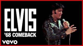 If I Can Dream (Black Leather Lip-sync) (68 Comeback Special (50th Anniversary HD Rema...