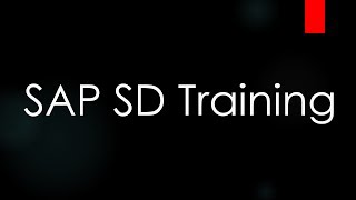 SAP SD Training - Customer Master Data (Video 5) | SAP SD