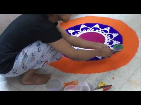 sanskar bharati rangoli design by ketan sawant